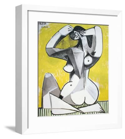 Nu Accroupi-Pablo Picasso-Framed Collectable Print