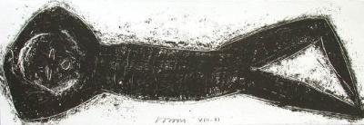 Nu allonge-Michel Haas-Collectable Print