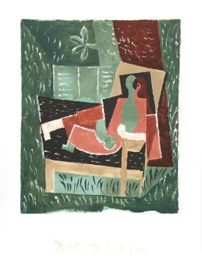 Nu au Bras Leve de Face-Pablo Picasso-Collectable Print