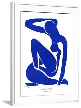Nu Bleu I, c.1952-Henri Matisse-Framed Art Print