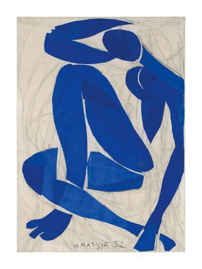 Nu Bleu IV-Henri Matisse-Art Print