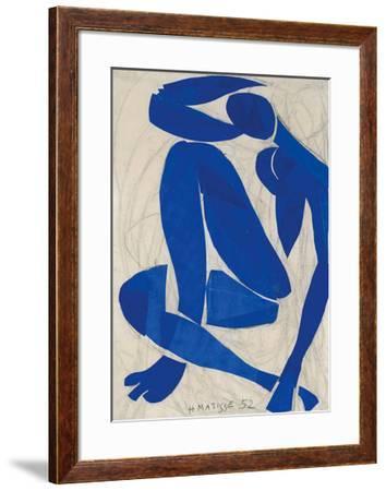 Nu Bleu IV-Henri Matisse-Framed Art Print