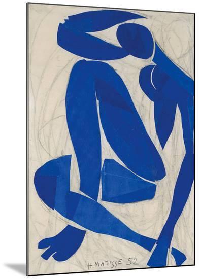 Nu Bleu IV-Henri Matisse-Mounted Print
