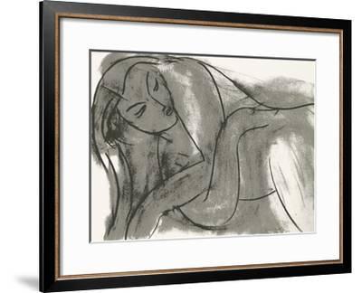 Nu, c.1941-Henri Matisse-Framed Serigraph