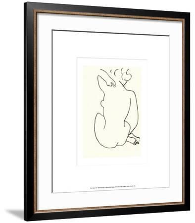 Nu, c.1949-Henri Matisse-Framed Serigraph