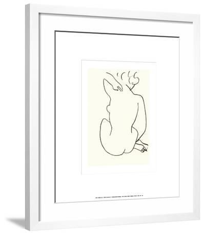 Nu, c.1949-Henri Matisse-Framed Art Print