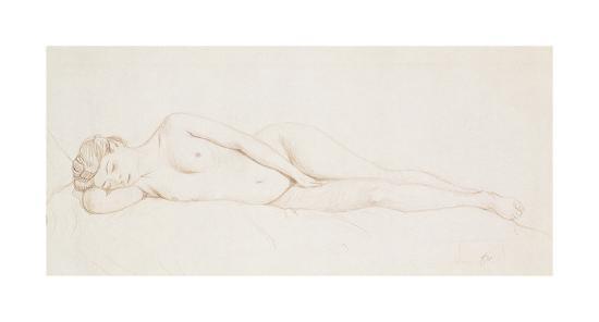 Nu Feminin Couche-Felix Edouard Vallotton-Premium Giclee Print