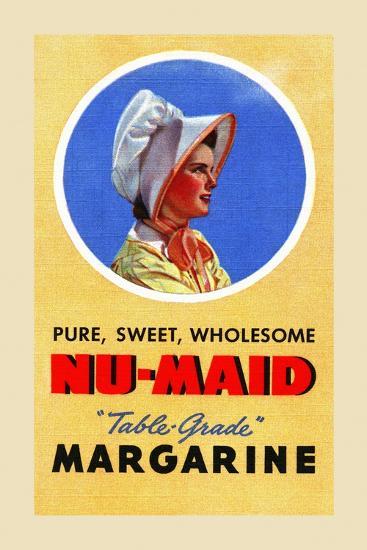 Nu-Maid Margarine-Curt Teich & Company-Art Print