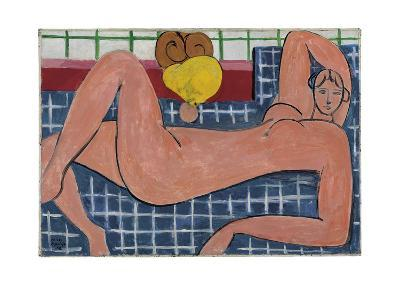 Nu Rose, 1935-Henri Matisse-Art Print