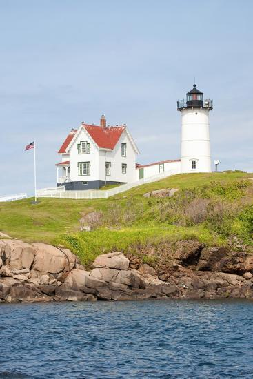 Nubble Lighthouse, Cape Neddick, York, Maine-Joseph Sohm-Photographic Print