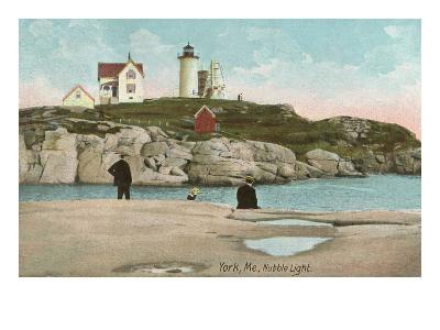 Nubble Lighthouse, York, Maine--Art Print