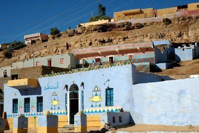 Nubian House; Cataract Nubie Desert, Egypt-P. Eoche-Photographic Print