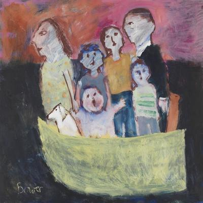 Nuclear Family; 2011-Susan Bower-Giclee Print