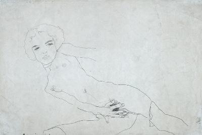 Nude, 1911-Egon Schiele-Giclee Print