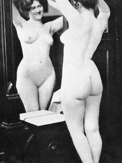 Nude And Mirror, 1902-Fritz W. Guerin-Photographic Print