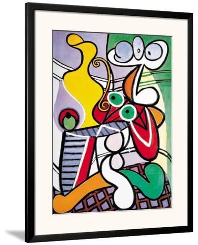 Nude and Still Life, c.1931-Pablo Picasso-Framed Art Print
