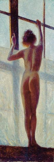 Nude at the Window, 1905-Pietro Mengarini-Giclee Print