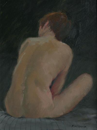 Nude Back, 2009-Pat Maclaurin-Giclee Print