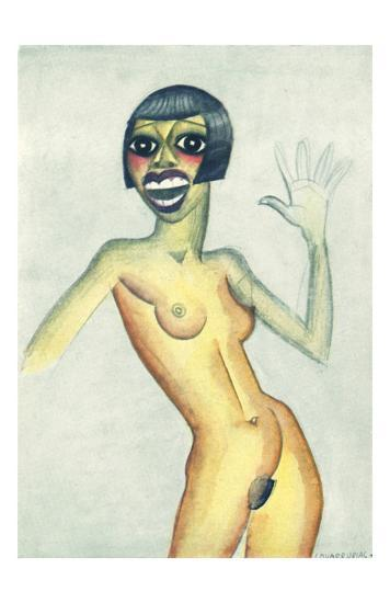 Nude Color-Covarrubias-Art Print
