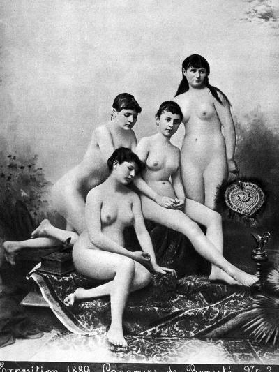 Nude Group, 1889--Photographic Print