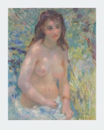 Nude in the Sun - Nu au Soleil-Pierre-Auguste Renoir-Collectable Print
