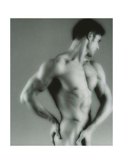 Nude Man-Cristina-Giclee Print