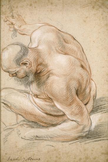 Old men nude Man, Woman