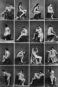 Nude Posing, C1875