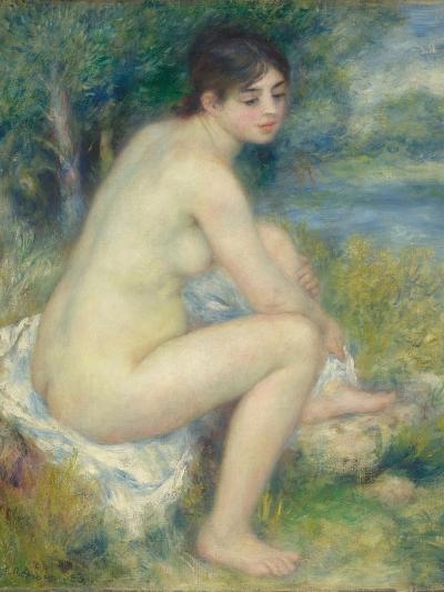 Nude Woman in a Landscape, 1883-Pierre-Auguste Renoir-Giclee Print