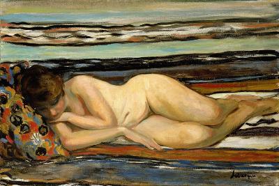 Nude Woman Sleeping; Nu Allonge-Henri Lebasque-Giclee Print