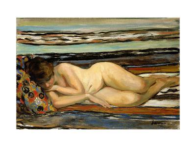 Nude Woman Sleeping-Henri Lebasque-Giclee Print