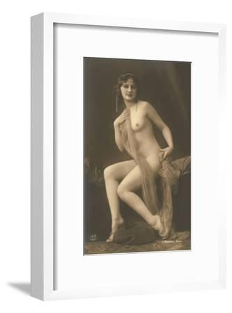 Nude Woman with Wrap