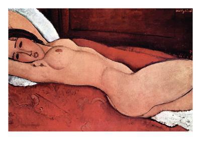 Nude-Amedeo Modigliani-Art Print