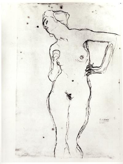 Nude-Gustav Klimt-Photographic Print