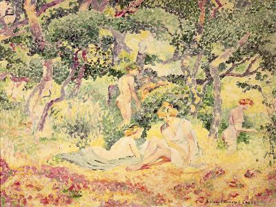 Nudes in a Wood, 1905-Henri Edmond Cross-Giclee Print