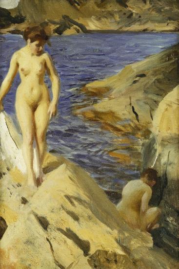 Nudes; Nakt, 1902-Anders Leonard Zorn-Giclee Print
