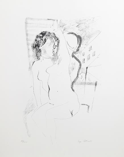 Nudes-Ugo Attardi-Collectable Print