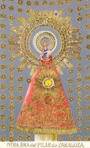 Nuestra Senora del Pilar de Zaragoza, Virgin Icon
