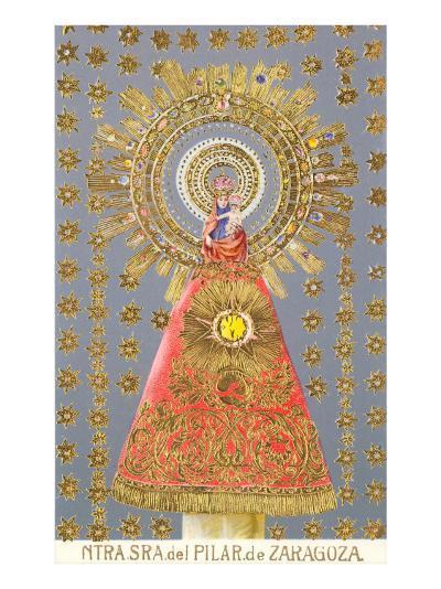 Nuestra Senora del Pilar de Zaragoza, Virgin Icon--Art Print