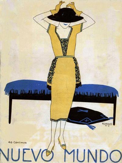 Nuevo Mundo, Magazine Cover, Spain, 1920--Giclee Print