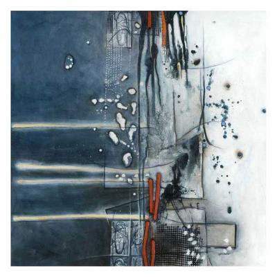 Nuit d'encre 2-Sylvie Cloutier-Art Print