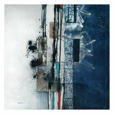 Nuit d'encre-Sylvie Cloutier-Art Print