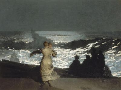 Nuit d'été-Winslow Homer-Giclee Print