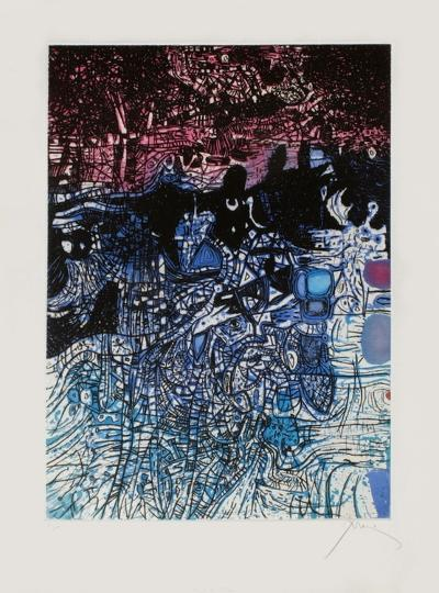 Nuit de l'eau-Mario Prassinos-Limited Edition