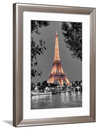 Nuit sur la Seine-Alan Blaustein-Framed Photographic Print