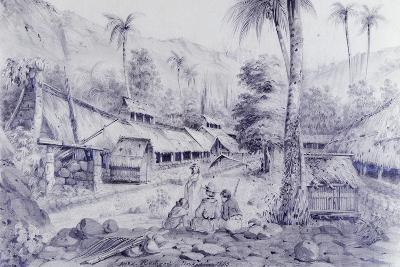 Nuku Hiva, Marquesas Islands-Maximilien-Rene' Radiguet-Giclee Print