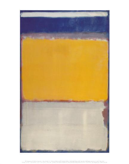 Number 10, 1950-Mark Rothko-Art Print