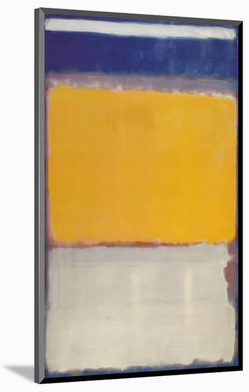 Number 10, 1950-Mark Rothko-Mounted Art Print