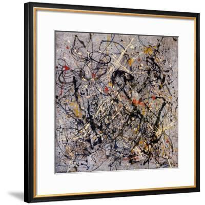 Number 18, 1950-Jackson Pollock-Framed Art Print