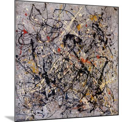 Number 18, 1950-Jackson Pollock-Mounted Art Print